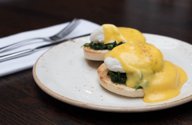Eggs Benedict at the BakeHouse, Chelmsford A414