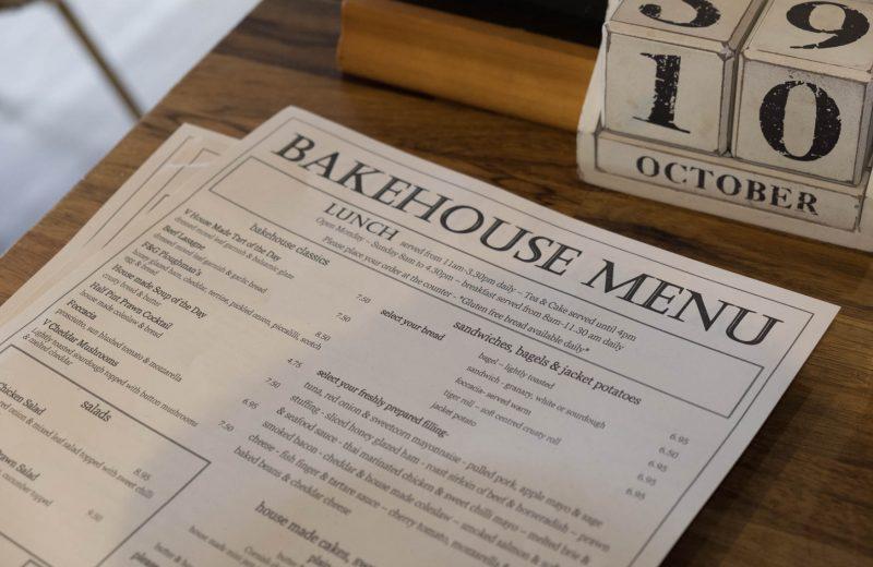 BakeHouse Menu - Breakfast, Brunch, Afternoon Cake