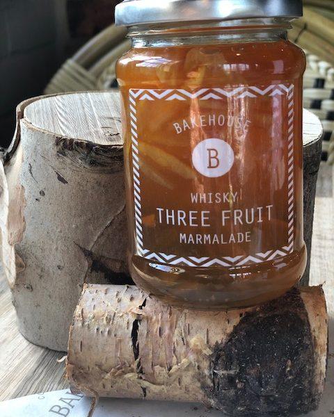 whisky 3 Fruit marmalade
